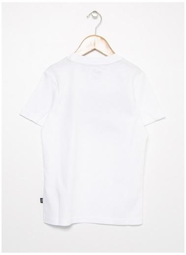 Puma Puma 58153002 Rebel Tee Beyaz Erkek Çocuk T-Shirt Beyaz